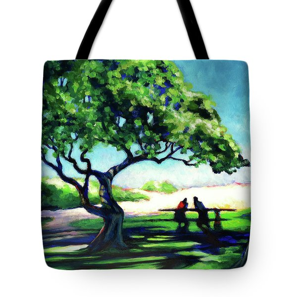 A Spot Of Sun Tote Bag by Angela Treat Lyon
