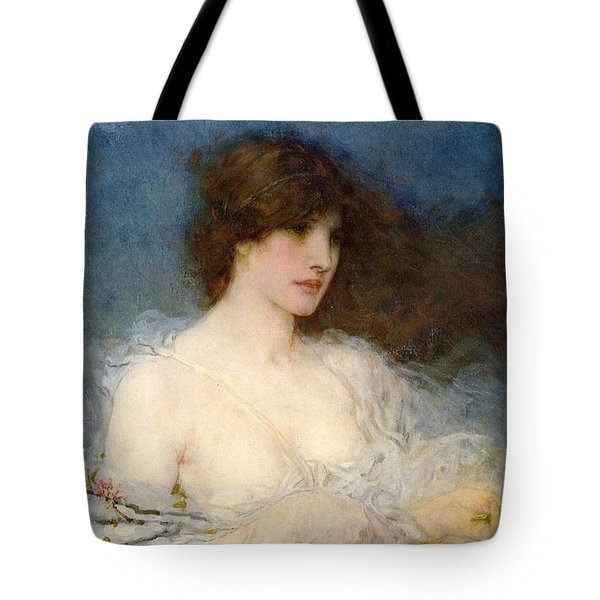 A Spring Idyll Tote Bag by George Henry Boughton