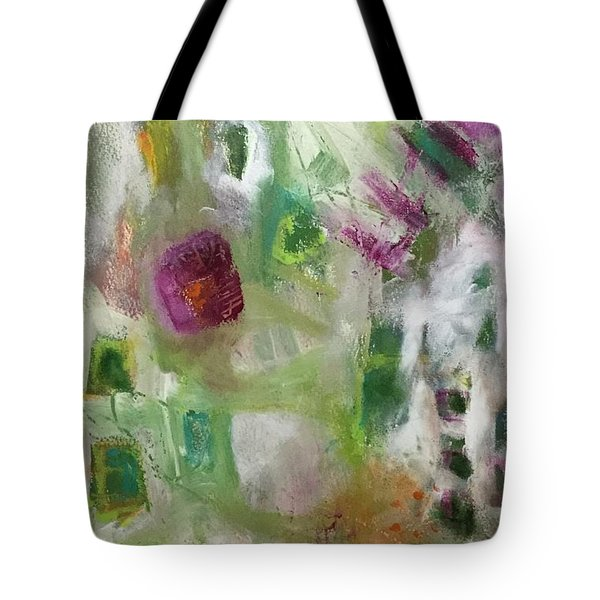 A Spring In Her Step Tote Bag by Gail Butters Cohen