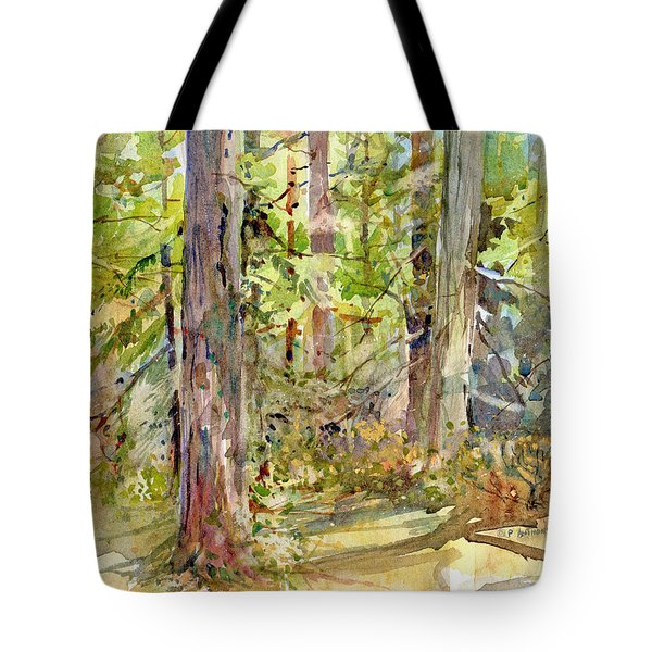 A Stand Of Trees Tote Bag