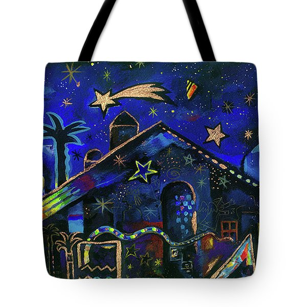 a star in Bethlehem Tote Bag