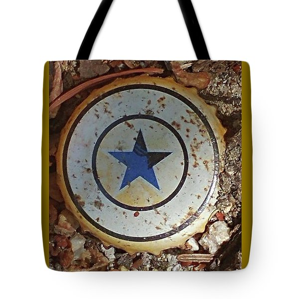 A Star Is Still A Star Even If It's Rusty Tote Bag