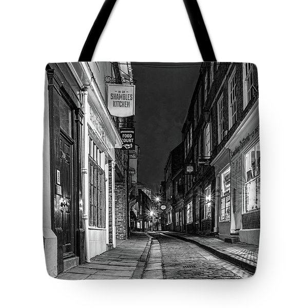 A Step Back In Time Tote Bag by David  Hollingworth
