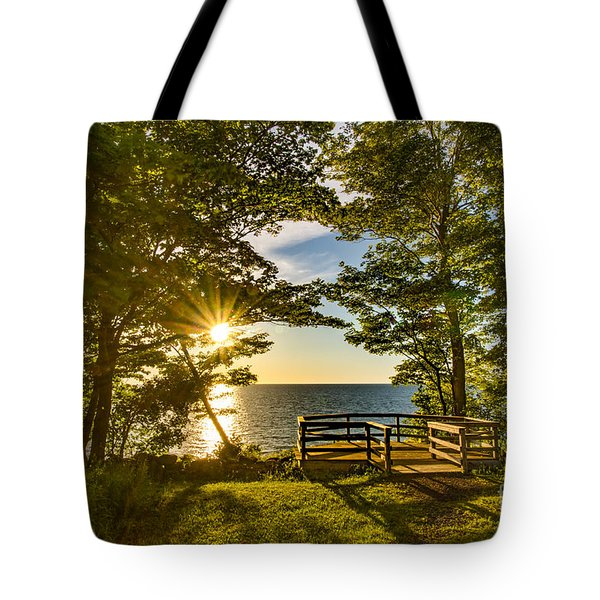 A Sterling Sunset Tote Bag