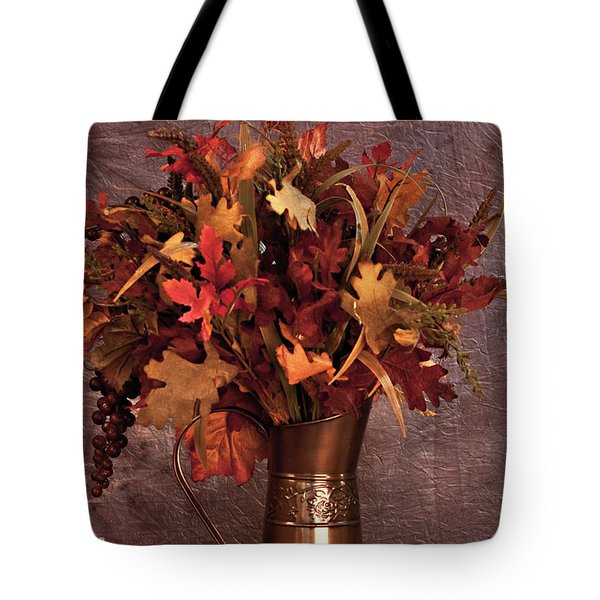 A Still Life For Autumn Tote Bag by Sherry Hallemeier