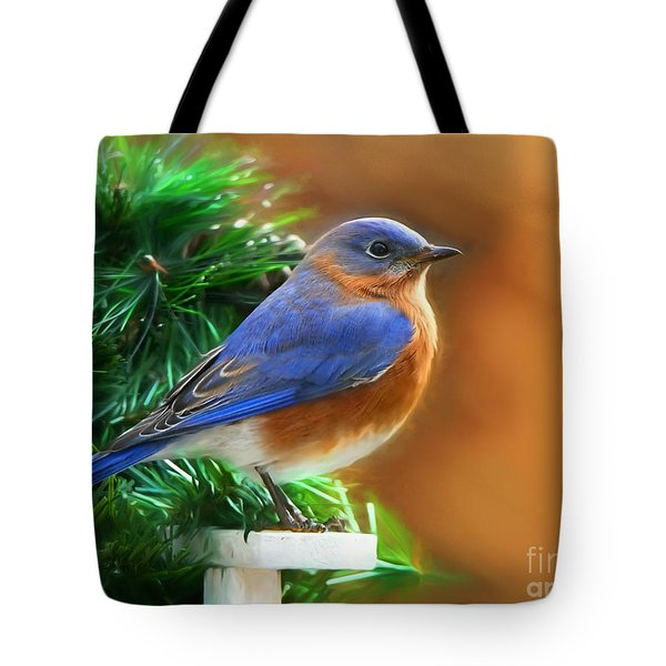 A Still Moment Tote Bag by Tina LeCour