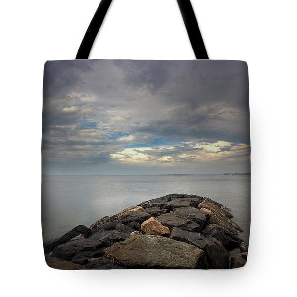 A Storm From The West Tote Bag