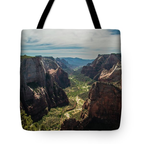 A Storm Is A' Brewing Tote Bag