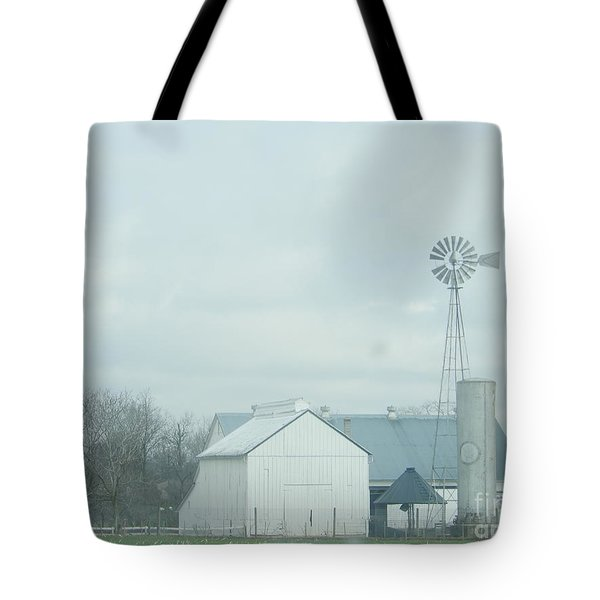A Storm Moves In Tote Bag