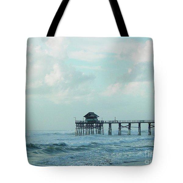 A Storm's Brewing Tote Bag
