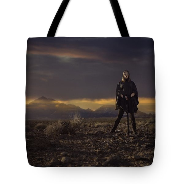 A Storms Brewing Tote Bag