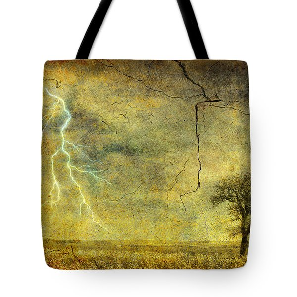 A Stormy Spring Tote Bag