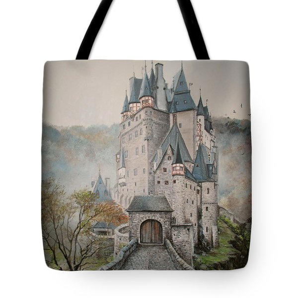 A Story At Eltz Castle Tote Bag
