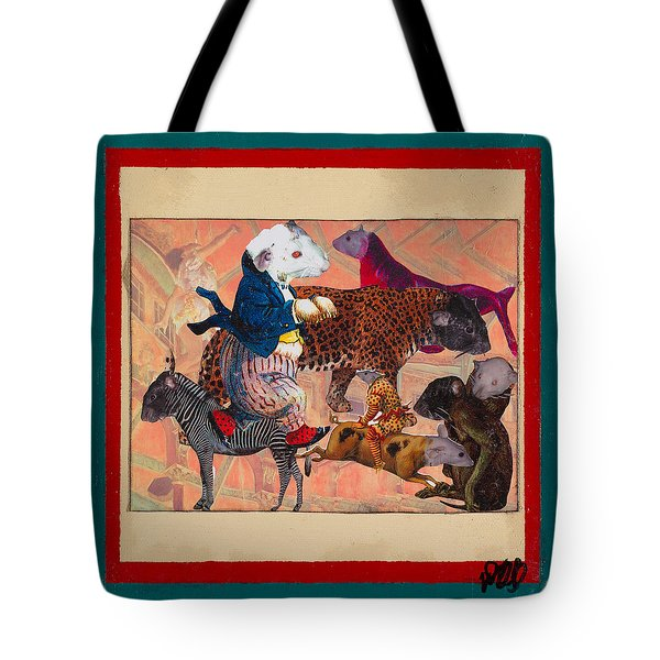 A Strange And Wonderful People Tote Bag