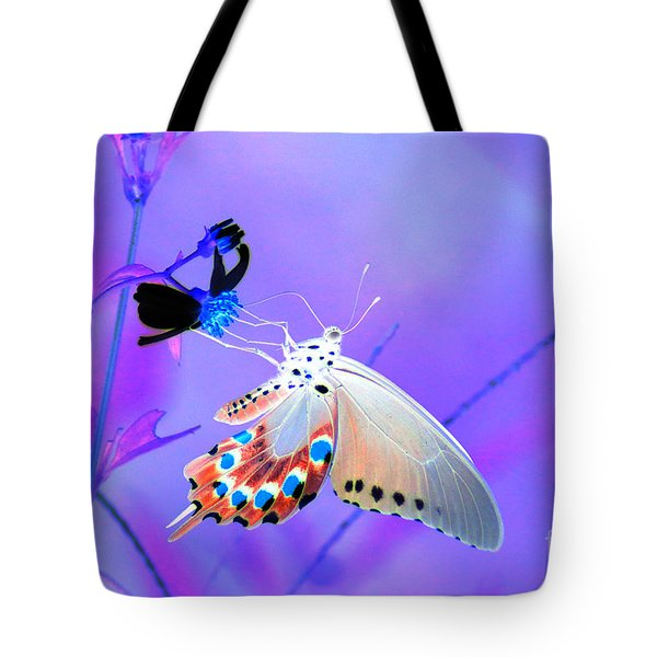 A Strange Butterfly Dream Tote Bag