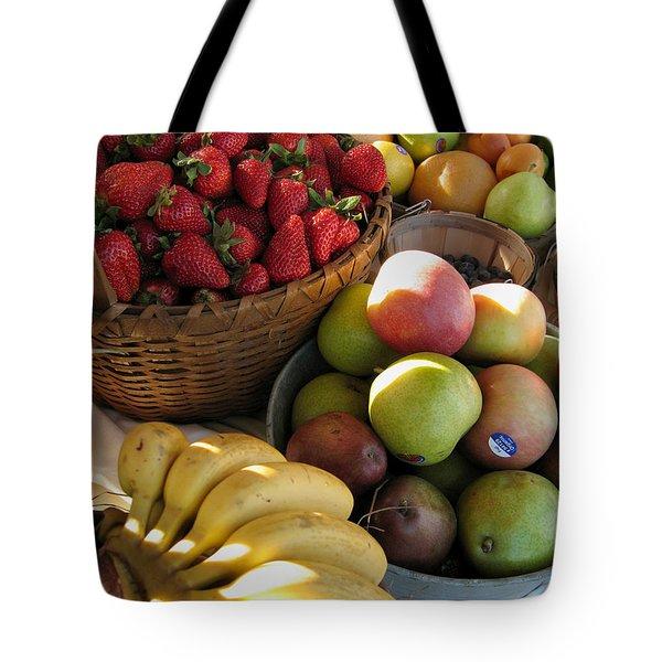 A Strawapplenana Show Tote Bag