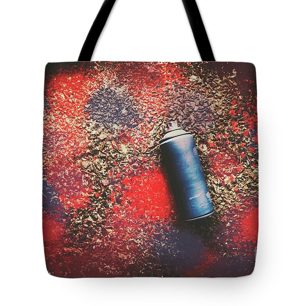 A Street Art Composition Tote Bag