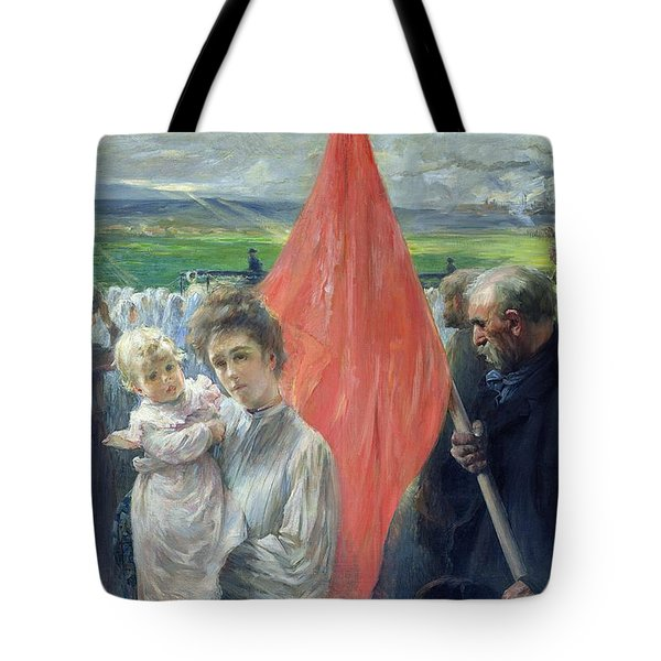 A Strike At Saint Ouen Tote Bag