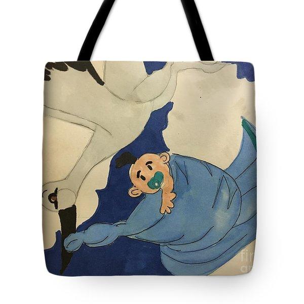 A Stroke  Tote Bag