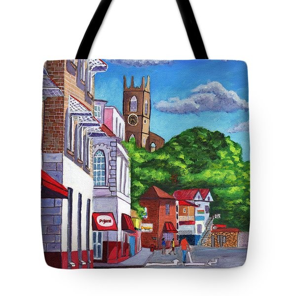 A Stroll On Melville Street Tote Bag