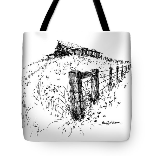 A Strong Fence And Weak Barn Tote Bag
