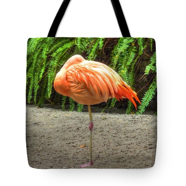 A Study In Pink Tote Bag by Michael Garyet