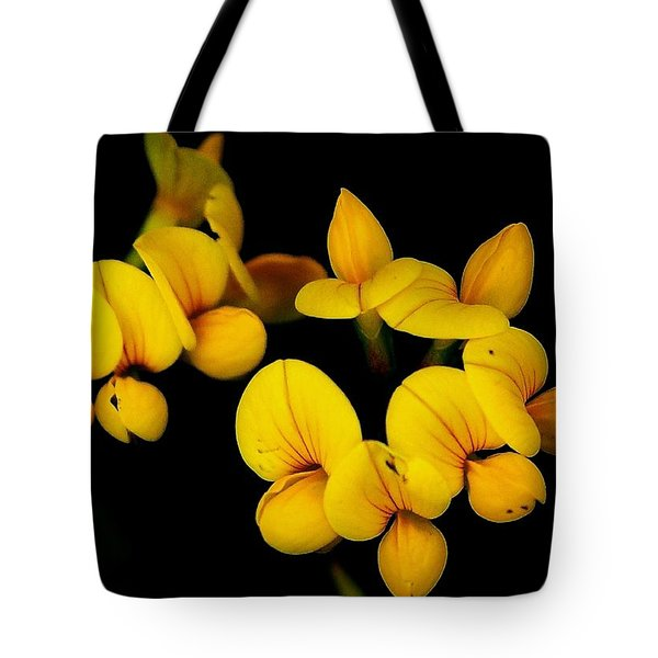 A Study In Yellow Tote Bag by David Lane