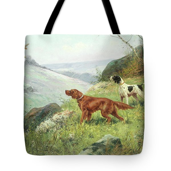 A Study Of Gun Dogs Tote Bag