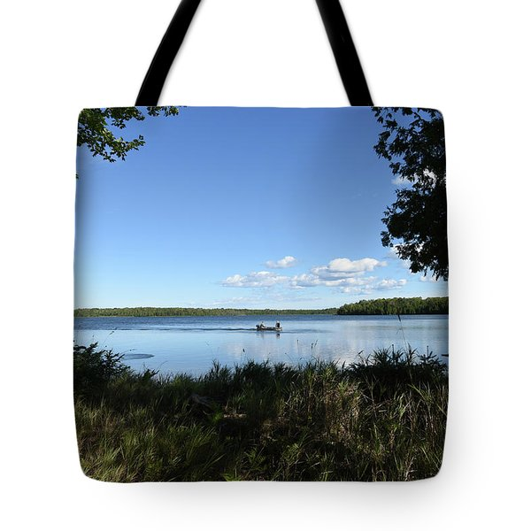 Tote Bag featuring the photograph A Successful Day by Sally Sperry