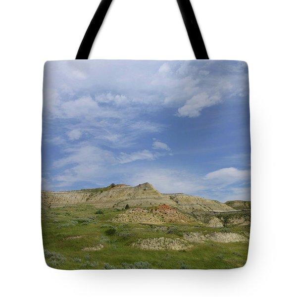 A Summer Day In Dakota Tote Bag