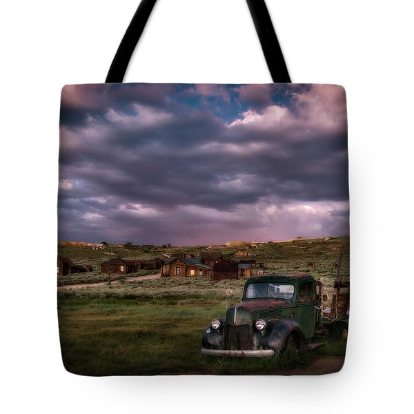 A Summer Evening In Bodie Tote Bag