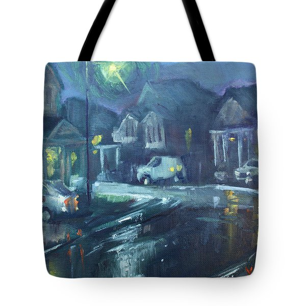 A Summer Rainy Night Tote Bag