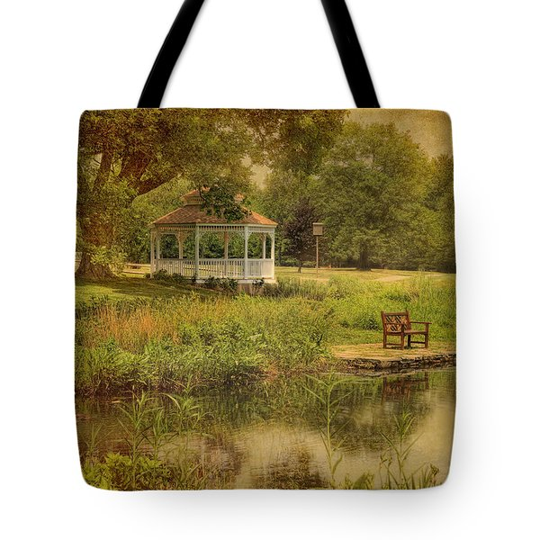A Summer's Day In Princeton Tote Bag