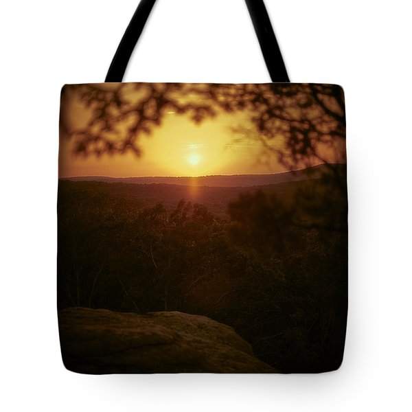 A Sun That Never Sets Tote Bag