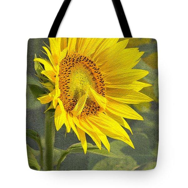 A Sunflower's Prayer Tote Bag
