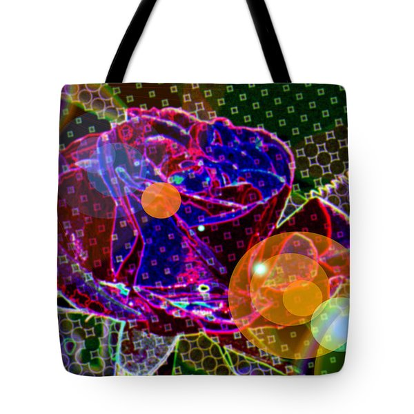 A Sunlit Blossom  Tote Bag by Jeff Swan
