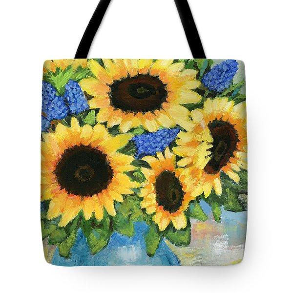 A Sunny Arrangement Tote Bag