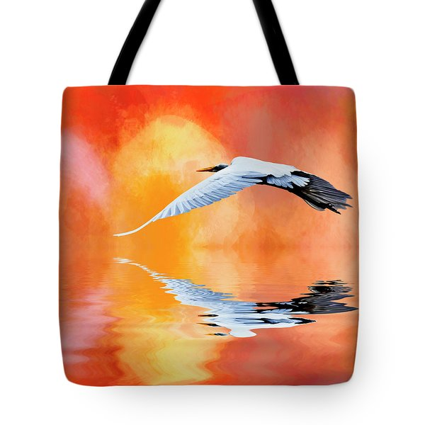 A Sunny Morning Tote Bag by Cyndy Doty