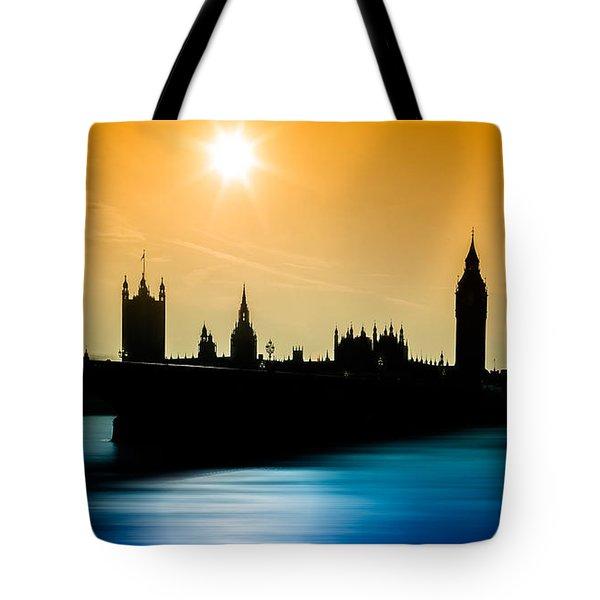 A Sunny Shape Tote Bag by Giuseppe Torre