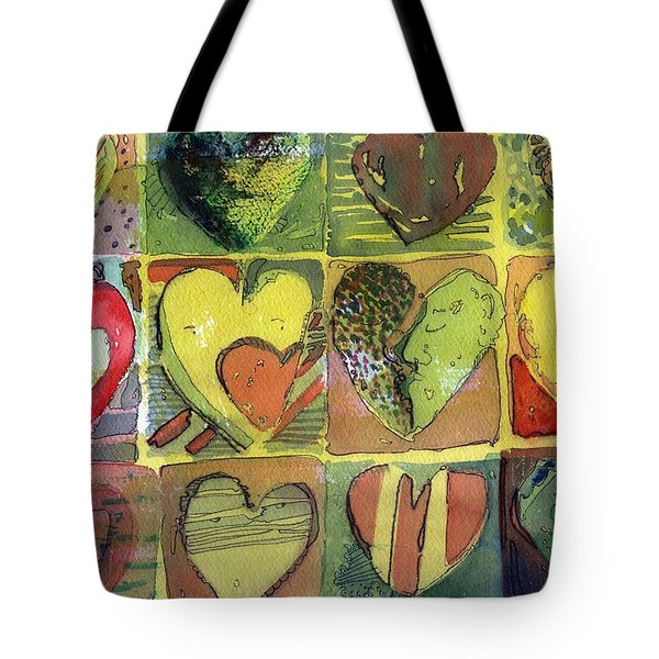 A Sunny Valentine Tote Bag by Mindy Newman