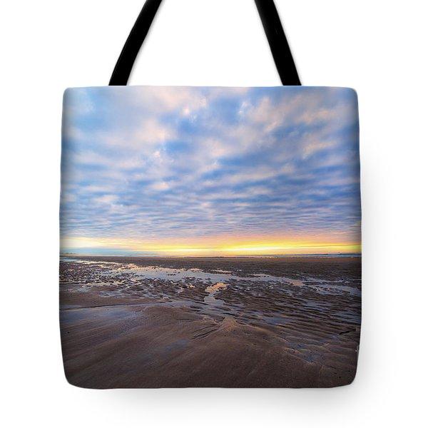 A Sunrise As Wide As The Sea Tote Bag