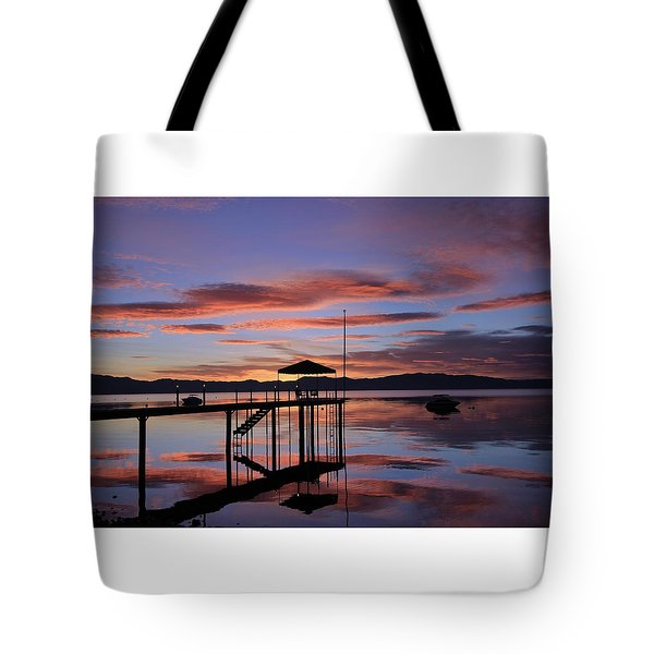 Tote Bag featuring the photograph A Sunrise To Wake The Dead  by Sean Sarsfield