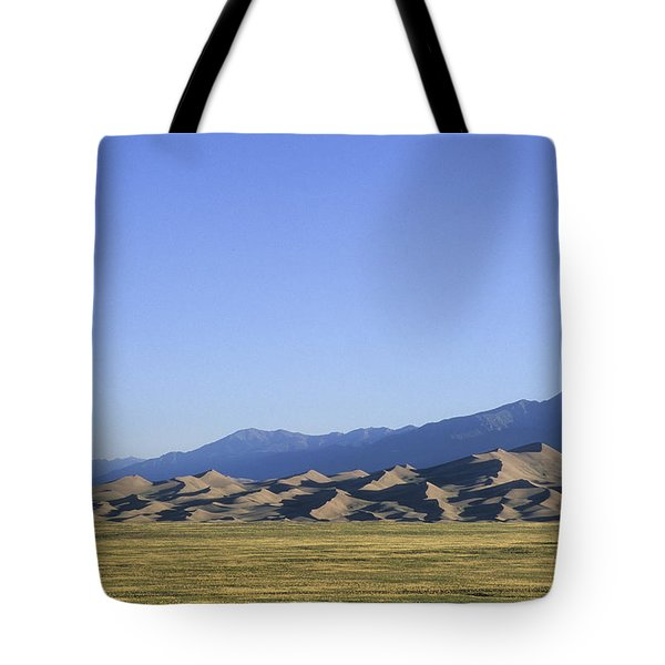 A Sunrise View Of North Americas Tote Bag