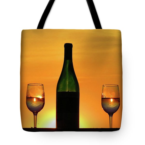 A Sunset In Each Glass Tote Bag