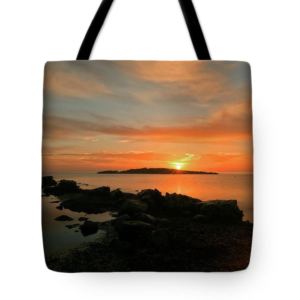 A Sunset In Ibiza Tote Bag