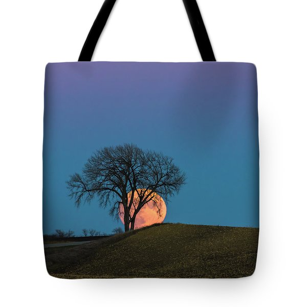 A Super Evening Tote Bag