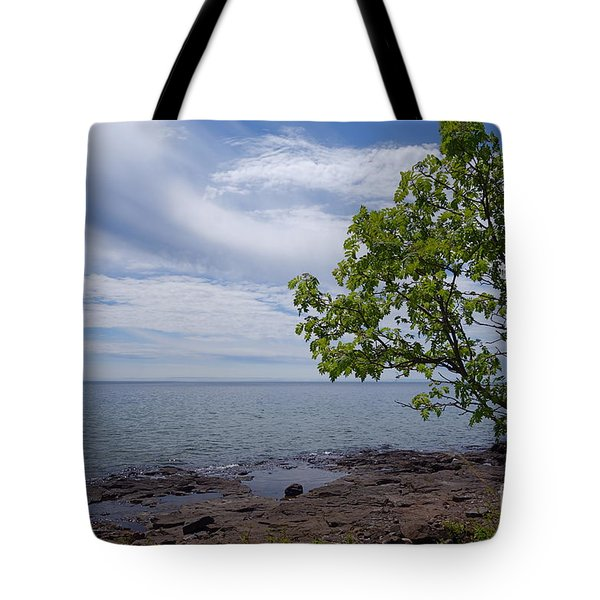 Tote Bag featuring the photograph A Superior Hiking Day #2 by Sandra Updyke