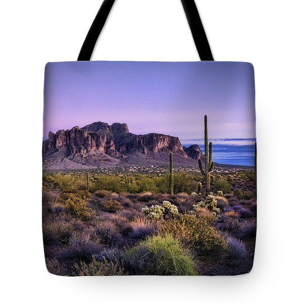 A Superstitious Evening  Tote Bag