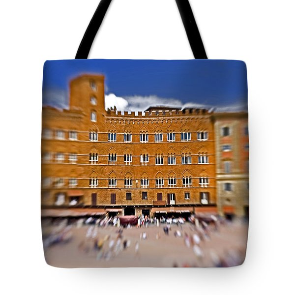A Surreal Siena Tote Bag by Marilyn Hunt