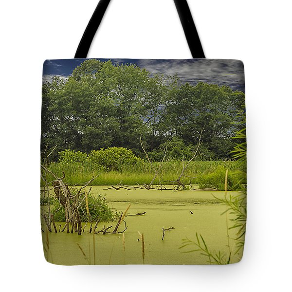 Tote Bag featuring the photograph A Swamp Thing by JRP Photography